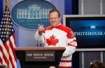 Obama Canada Olympics Hockey TOPIX